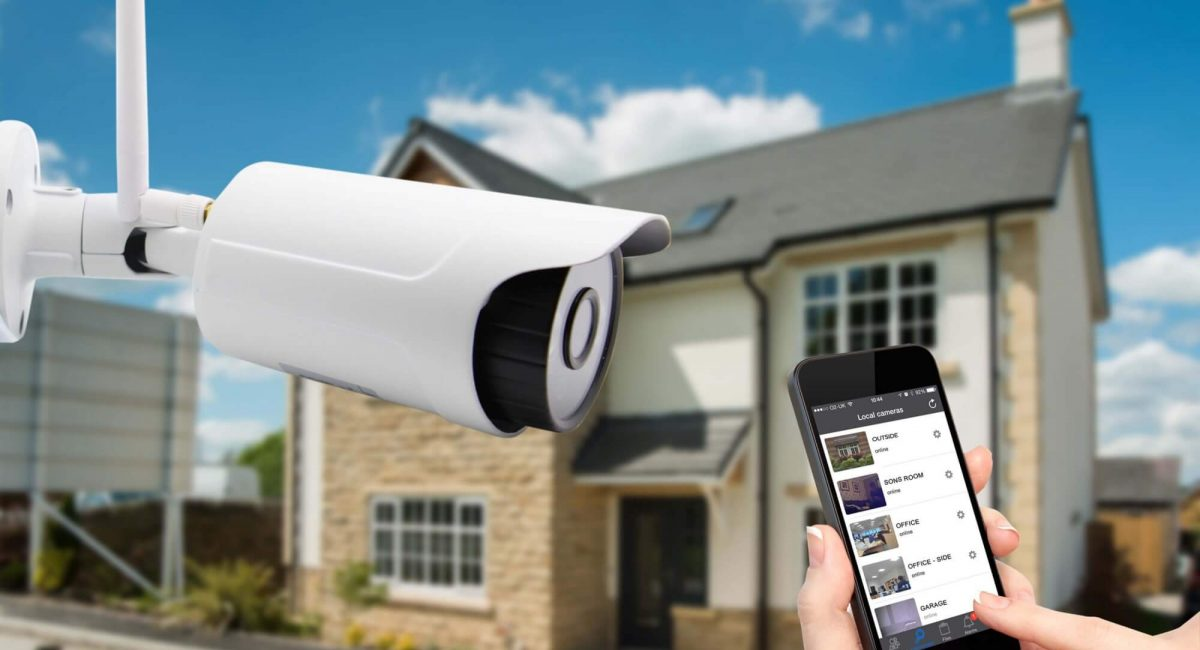 CCTV for home use including remote viewing