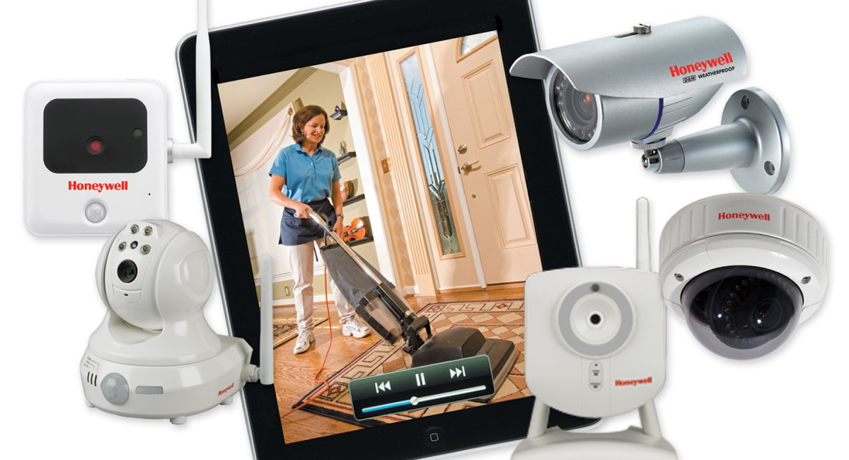 CCTV home surveillance system